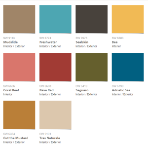 Sherwin-WIlliams-2017-Colormix-Collection