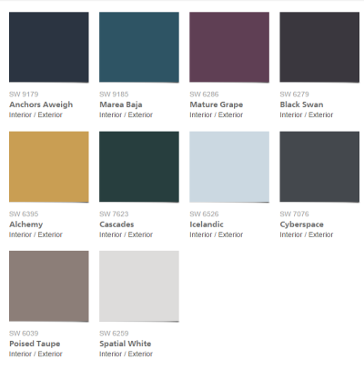 Sherwin-Williams- 2017-Colormix