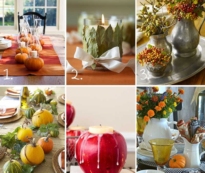 Thanksgiving Table Decorating: Setting The Stage With Thanksgiving Table Decorations